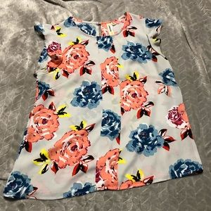 Floral short sleeve Lara wear to work blouse
